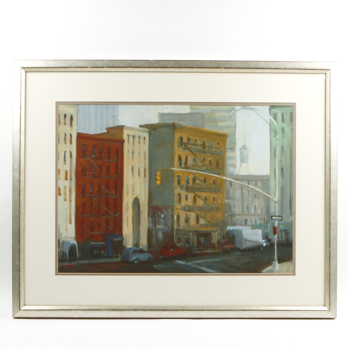 Painting of a Cityscape