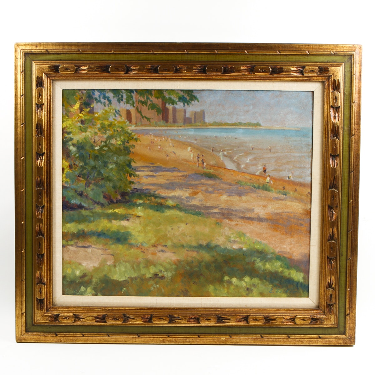 Oil Coastal Painting