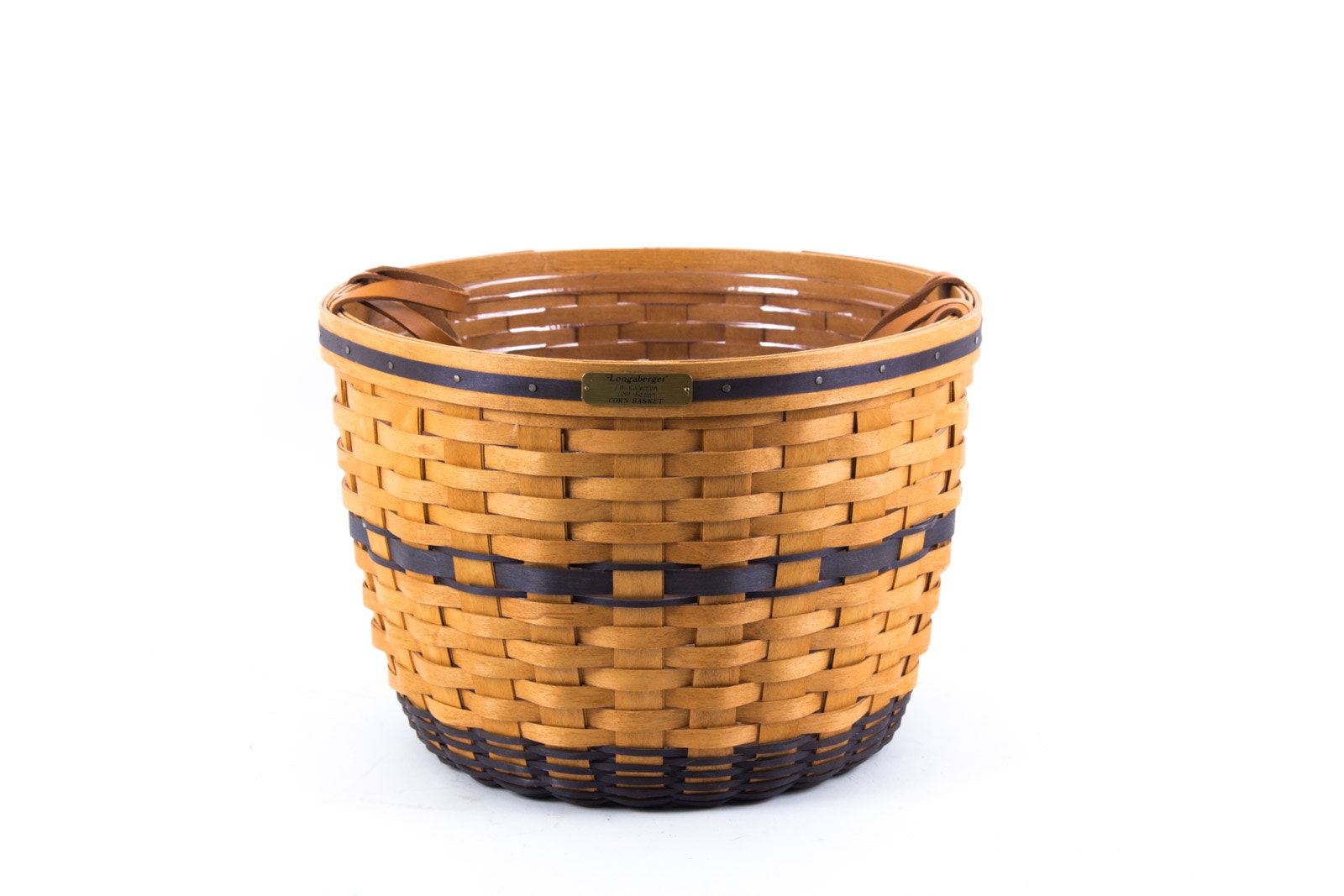 Longaberger 1991 Edition J.W. Collection Corn Basket