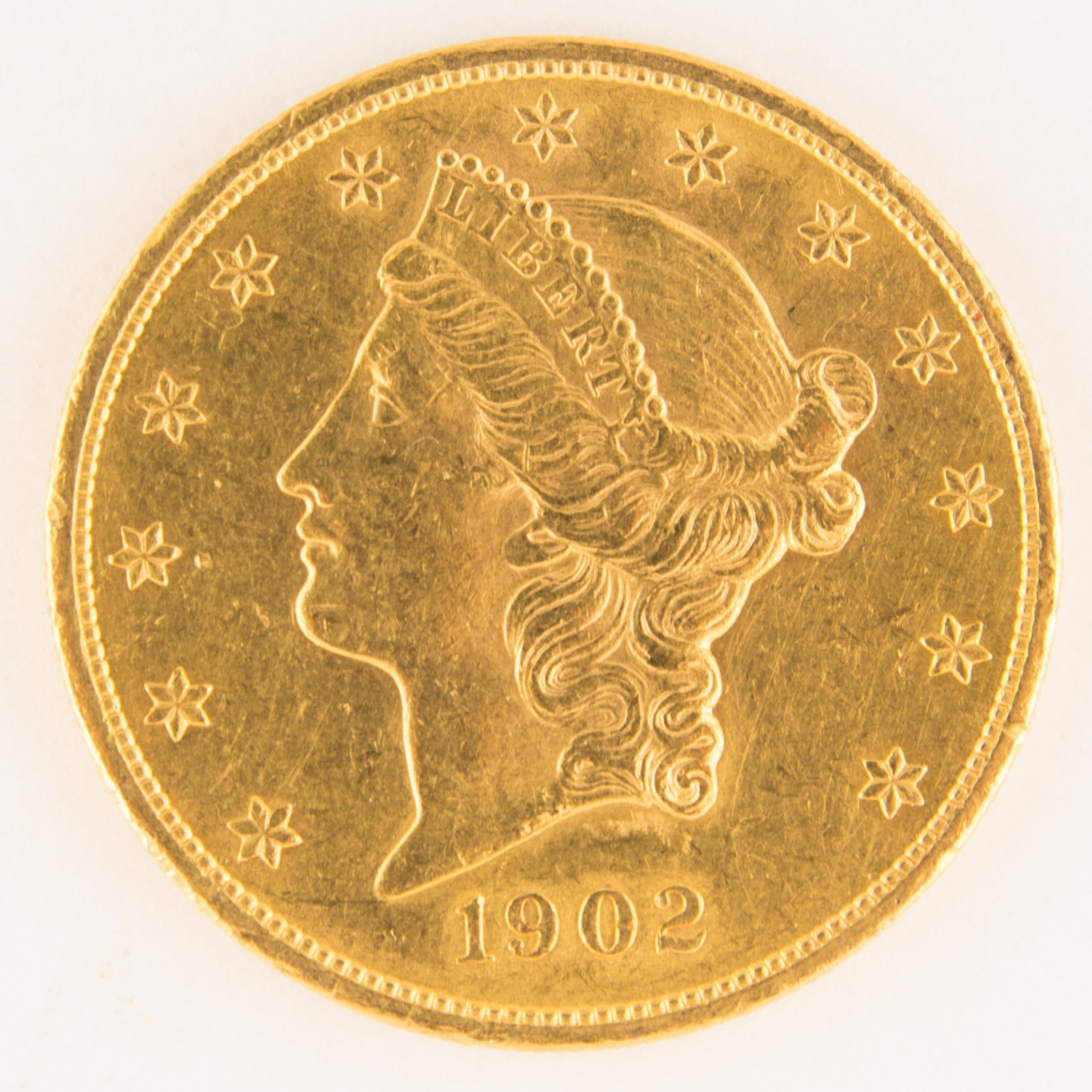 1902-S $20 Gold Liberty Head Coin