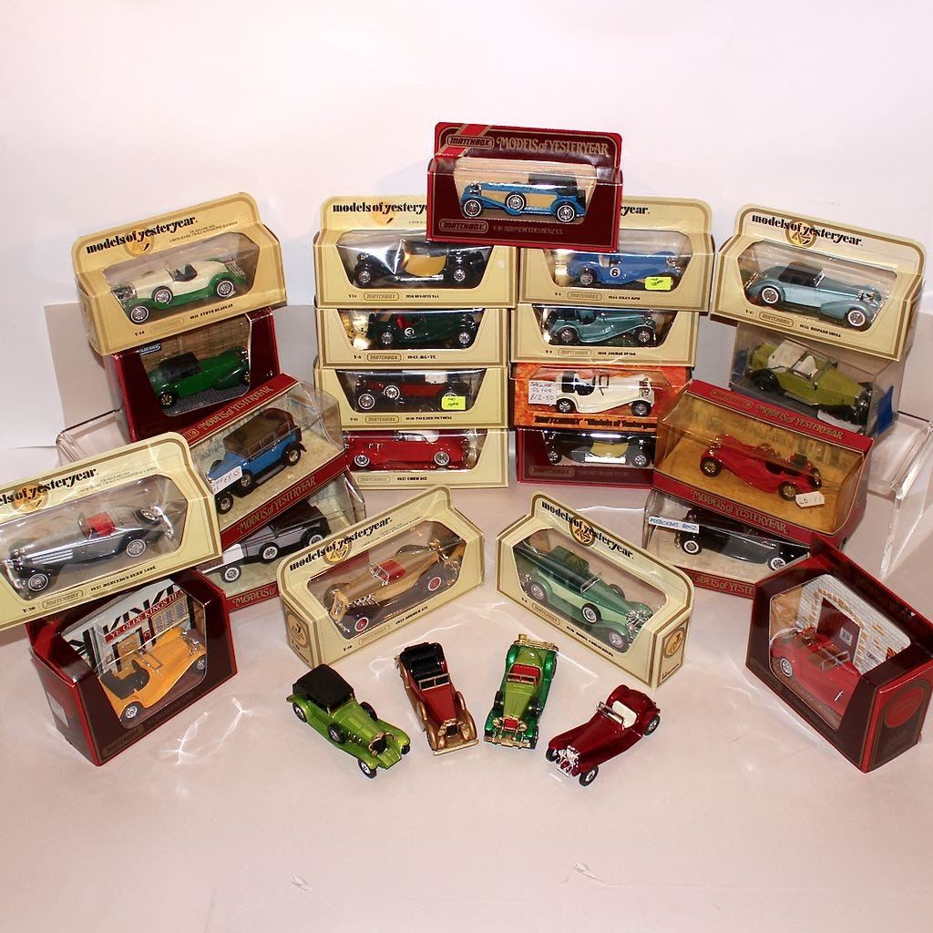 "Matchbox ""Yesteryear"" Roadster Die Cast Model Cars"