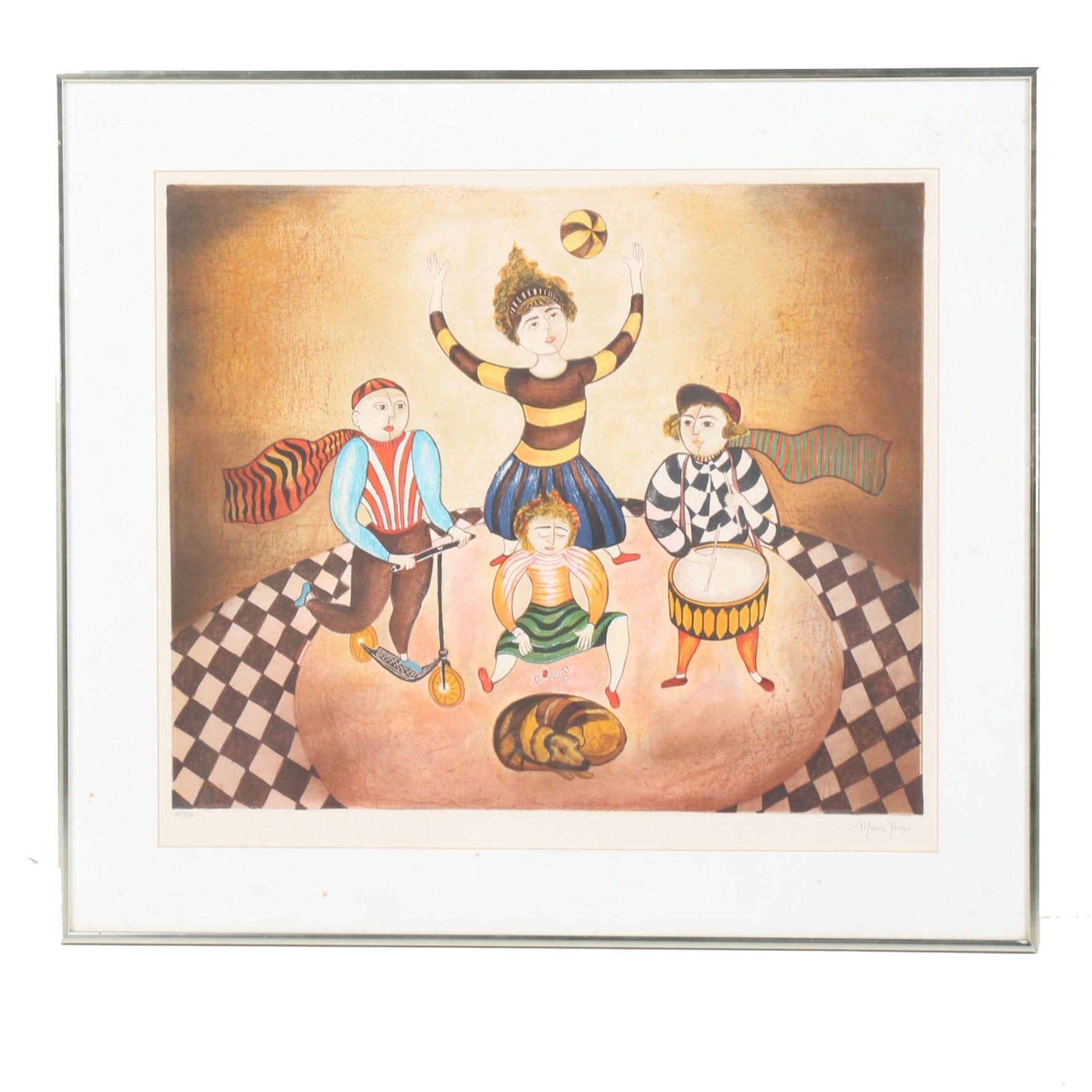 Maia Berger Limited Edition Offset Lithograph