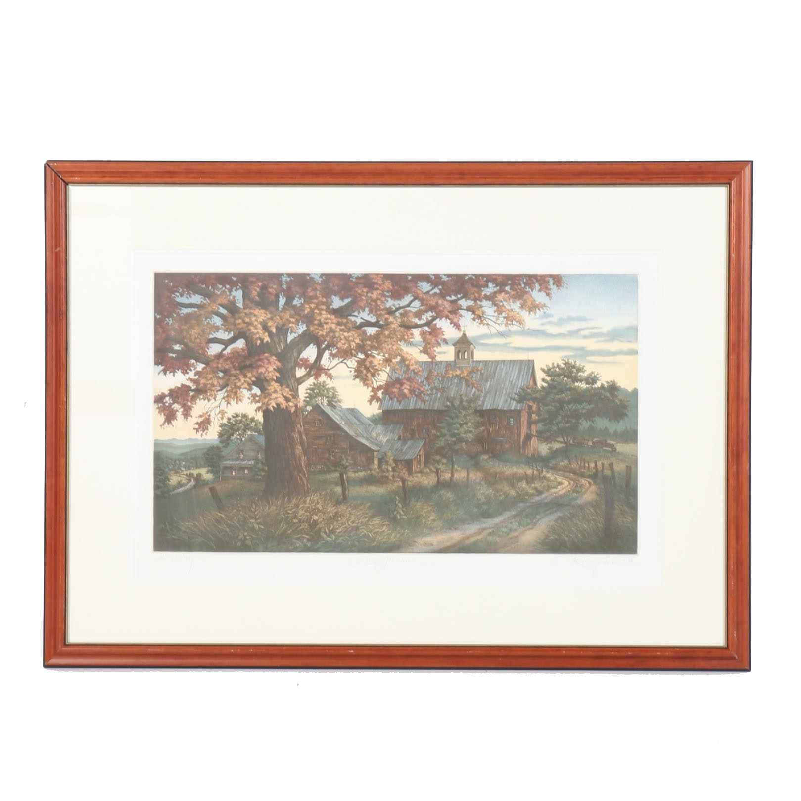 """After Kathleen Cantin Artist's Proof """"Late Afternoon"""""""