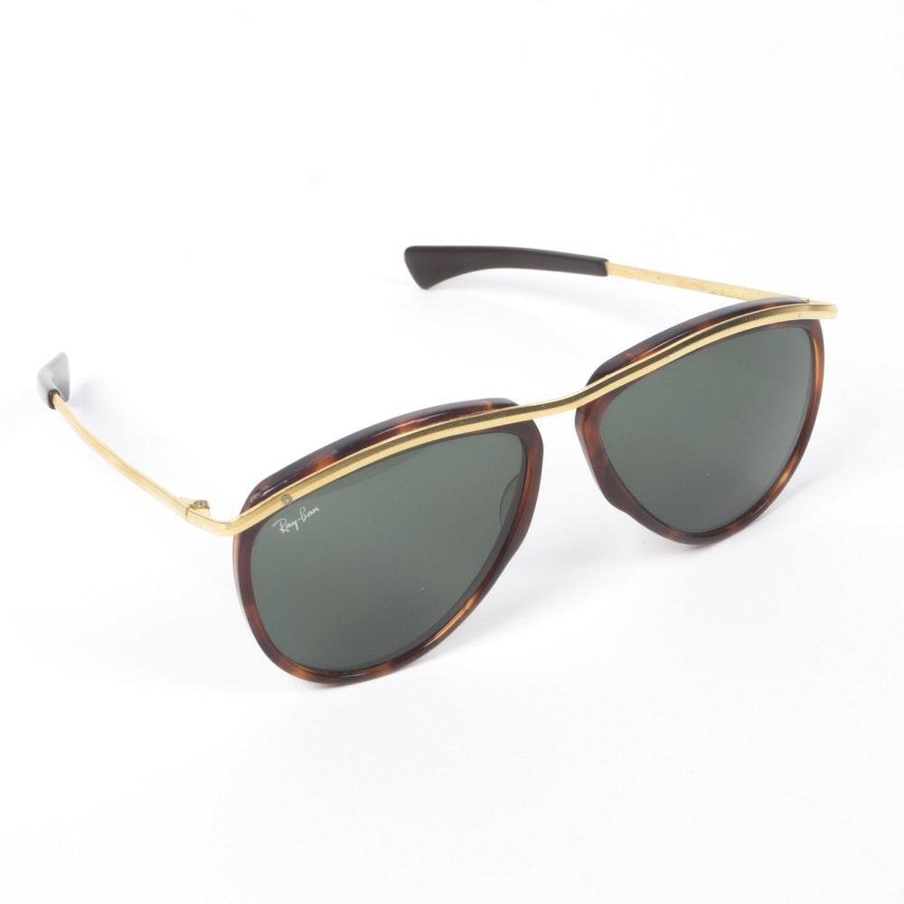 Vintage Ray-Ban Olympian Aviator Sunglasses