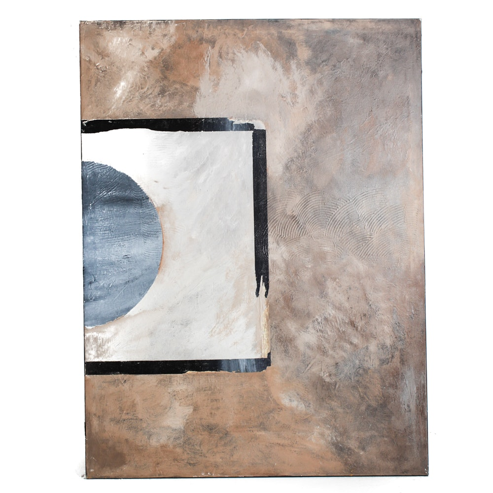 Large Scale Mixed Media on Canvas