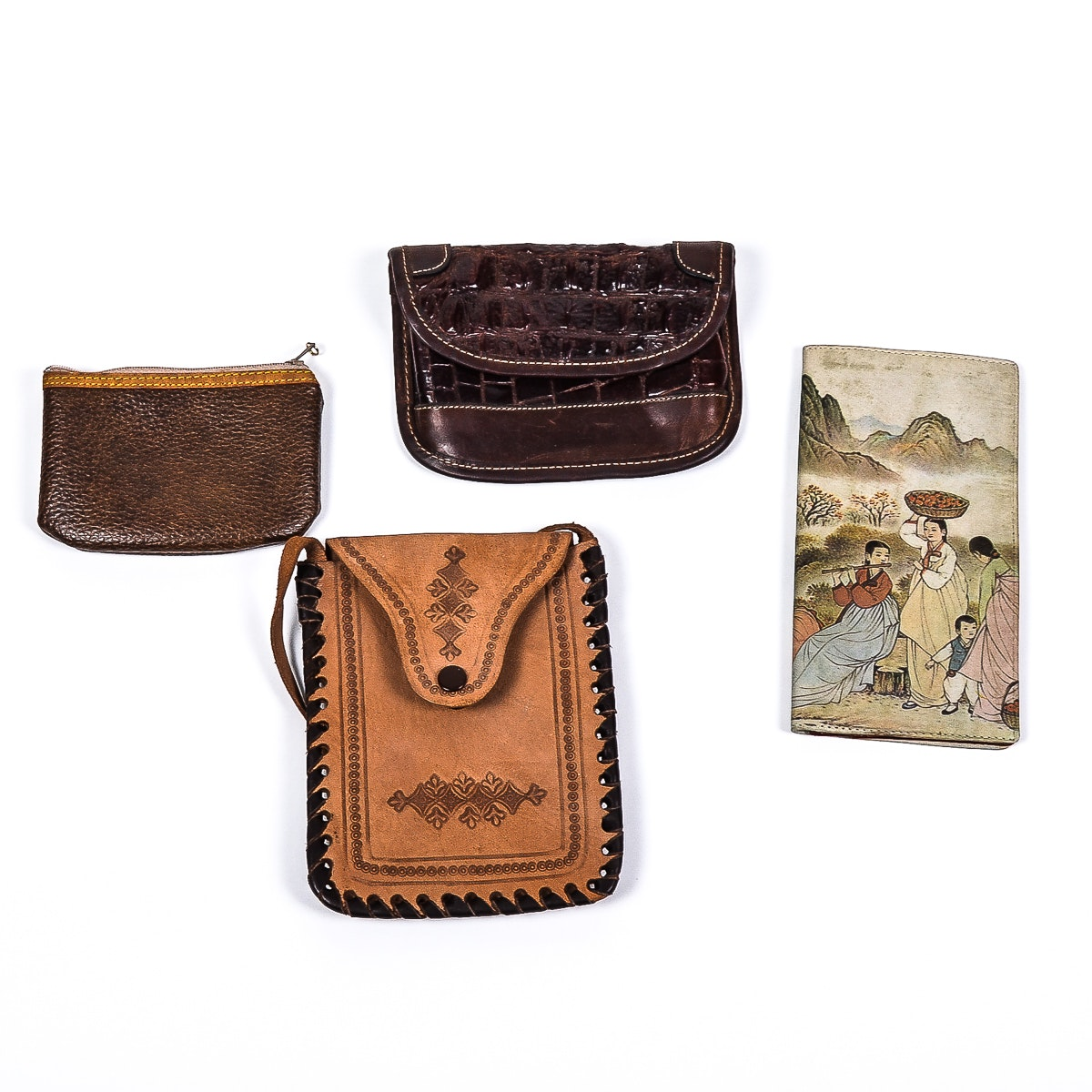 Collection of Leather Wallets