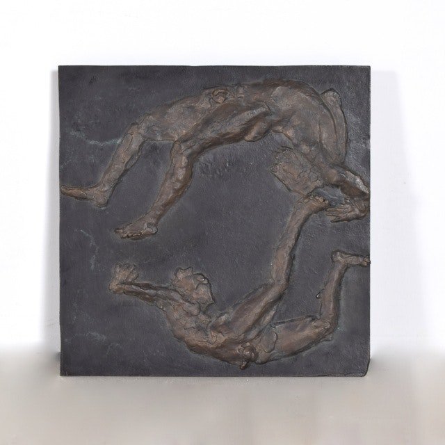 Bronze Bas-Relief Sculpture