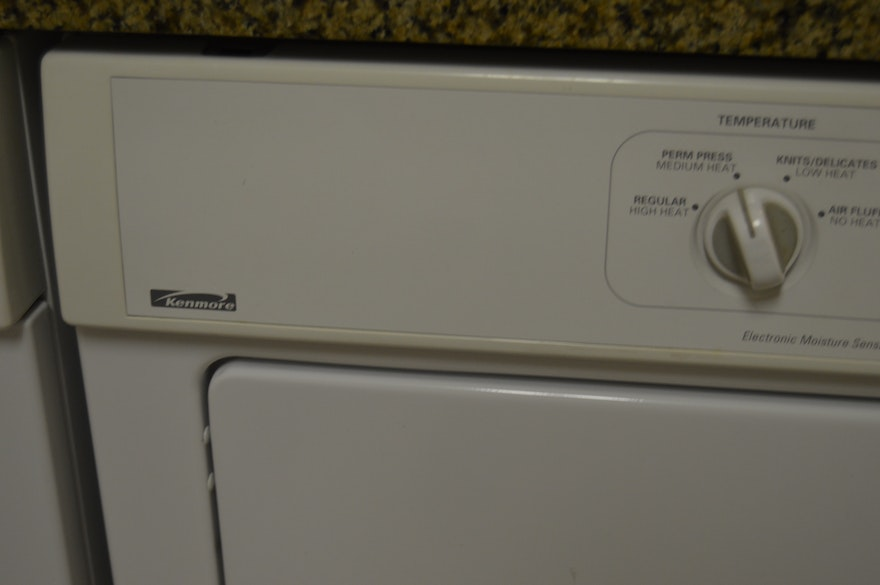 Convertible Front Load Kenmore Washer And Dryer Ebth
