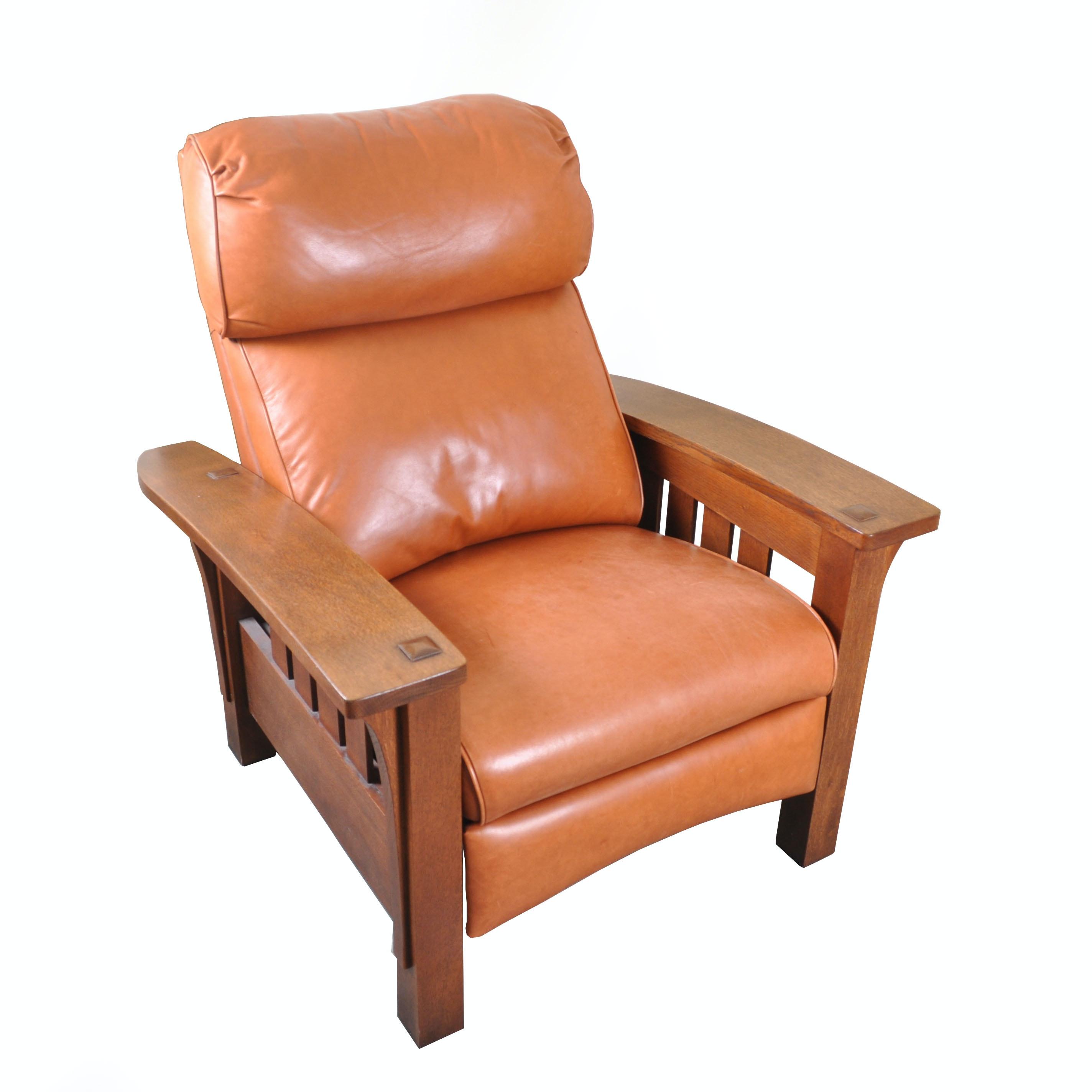 Bustle Back Morris Recliner By Stickley Furniture ...