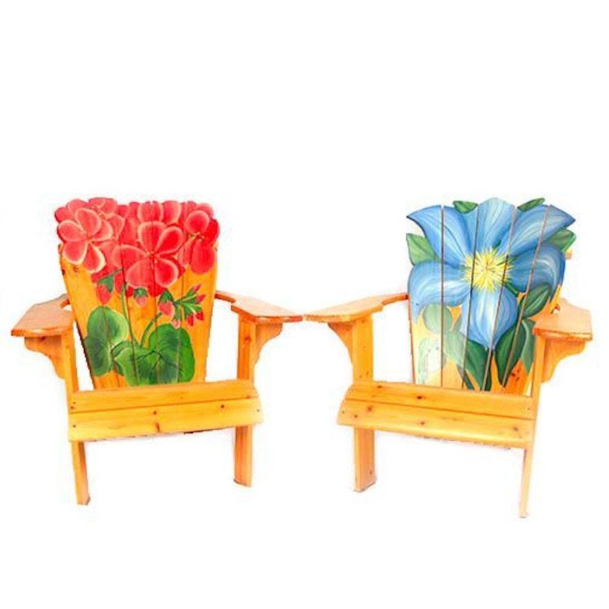 Amazing Hand Painted Adirondack Chairs Download Free Architecture Designs Embacsunscenecom