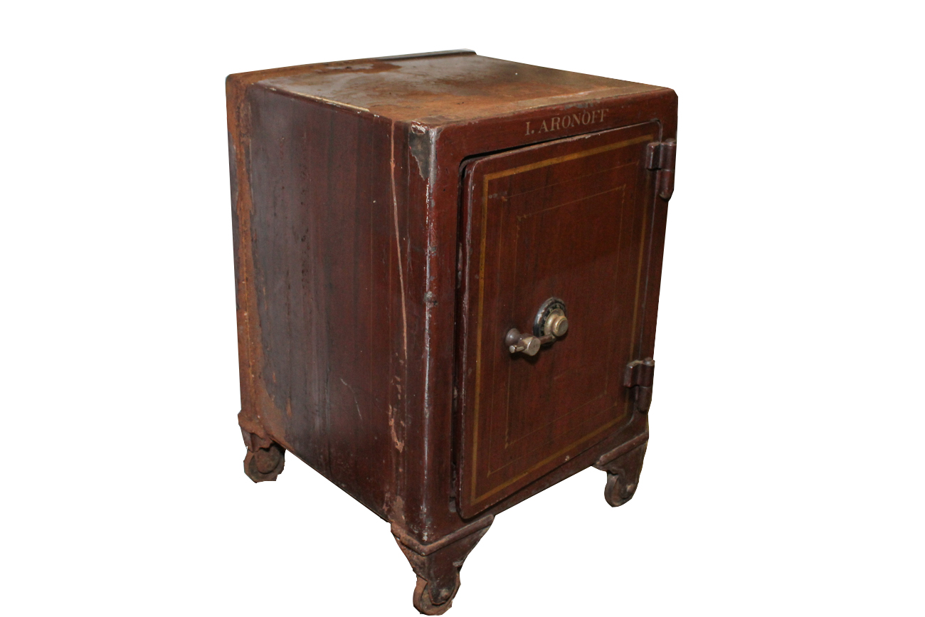york safe. york safe and lock company very heavy antique e