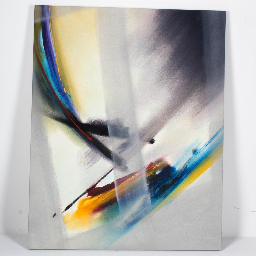 Original Signed Kirk Hughey Oil Painting