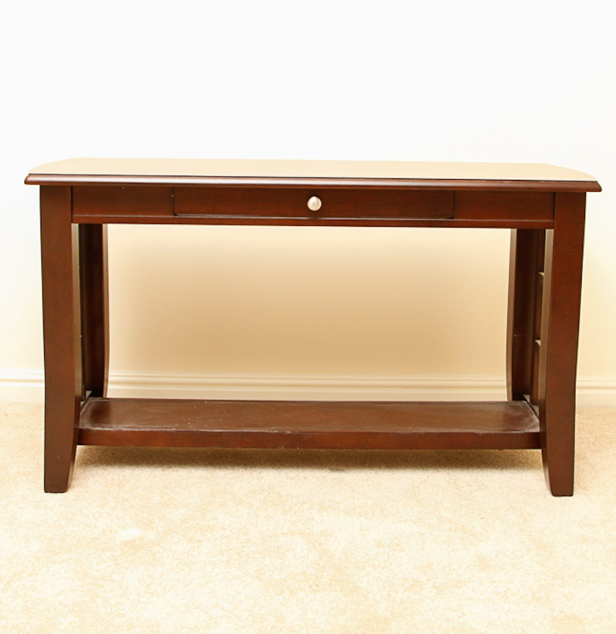 Contemporary one drawer console table ebth - Contemporary console tables with drawers ...