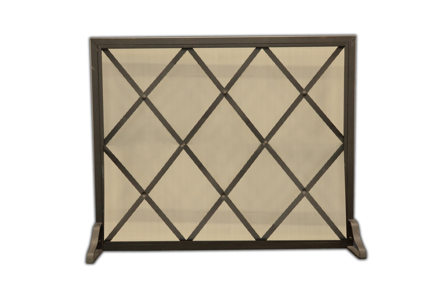 black metal fireplace screen ebth