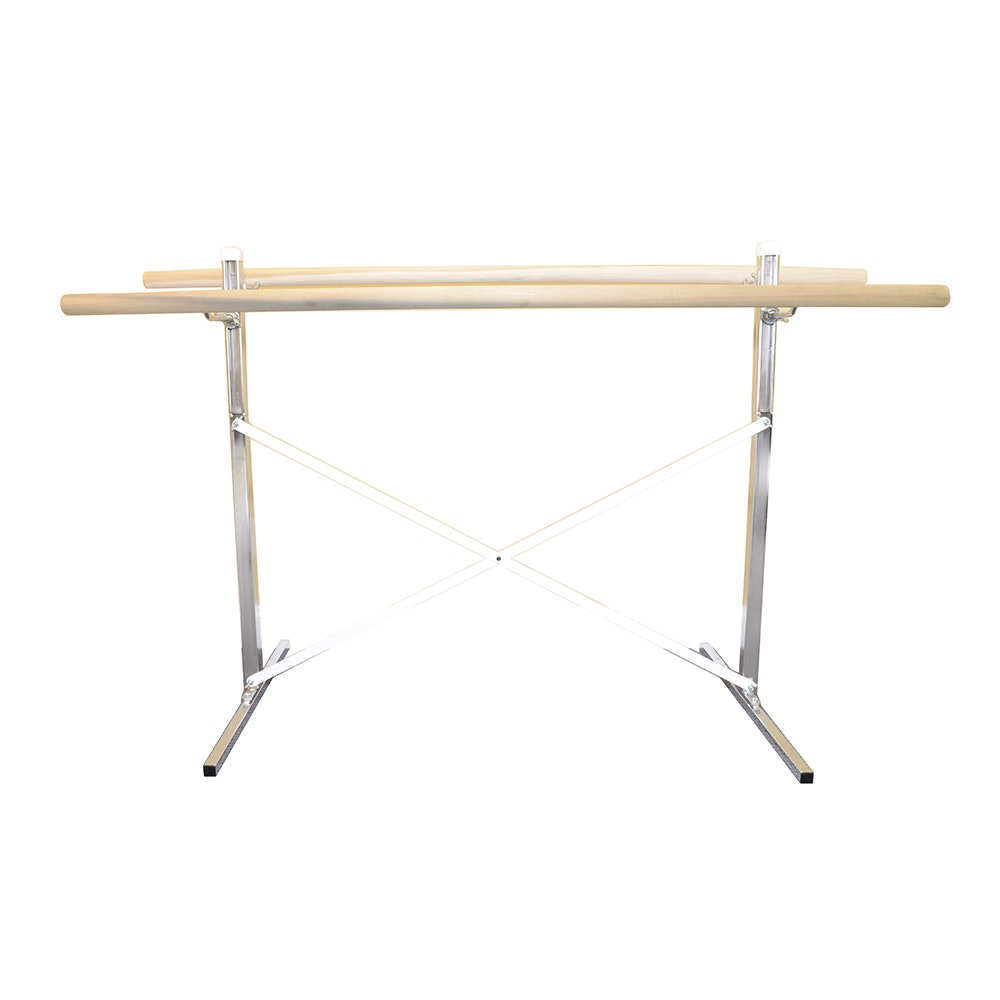 Alvas Free Standing Double Sided Ballet Barre