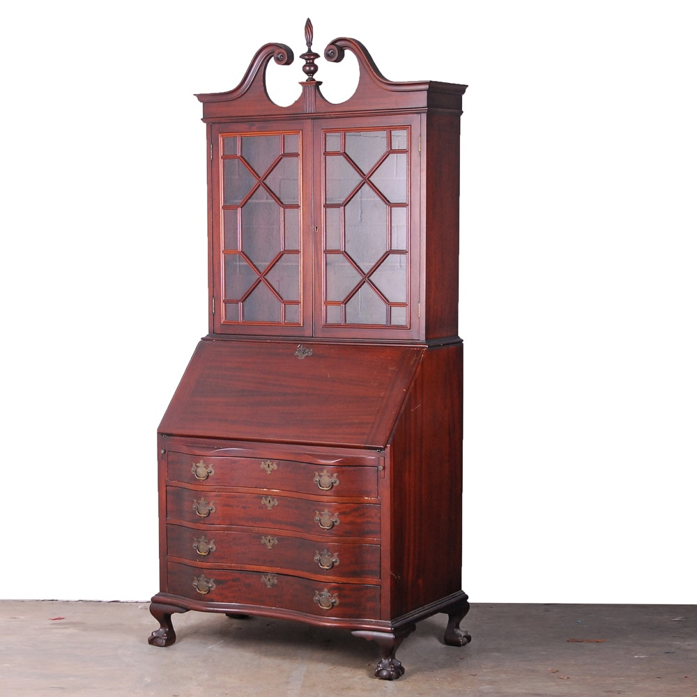 Colonial Auto Center >> Maddox Tables Mahogany Secretary : EBTH