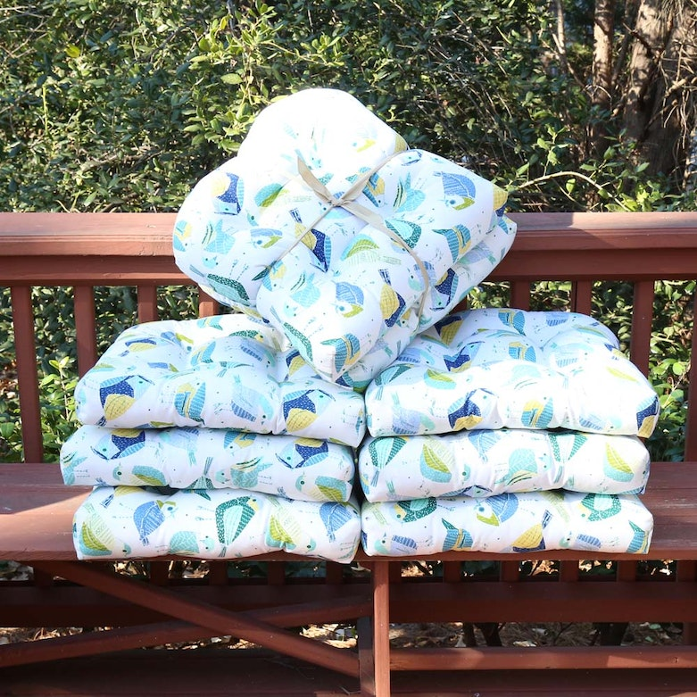 Newport All Weather Seat Cushions Ebth
