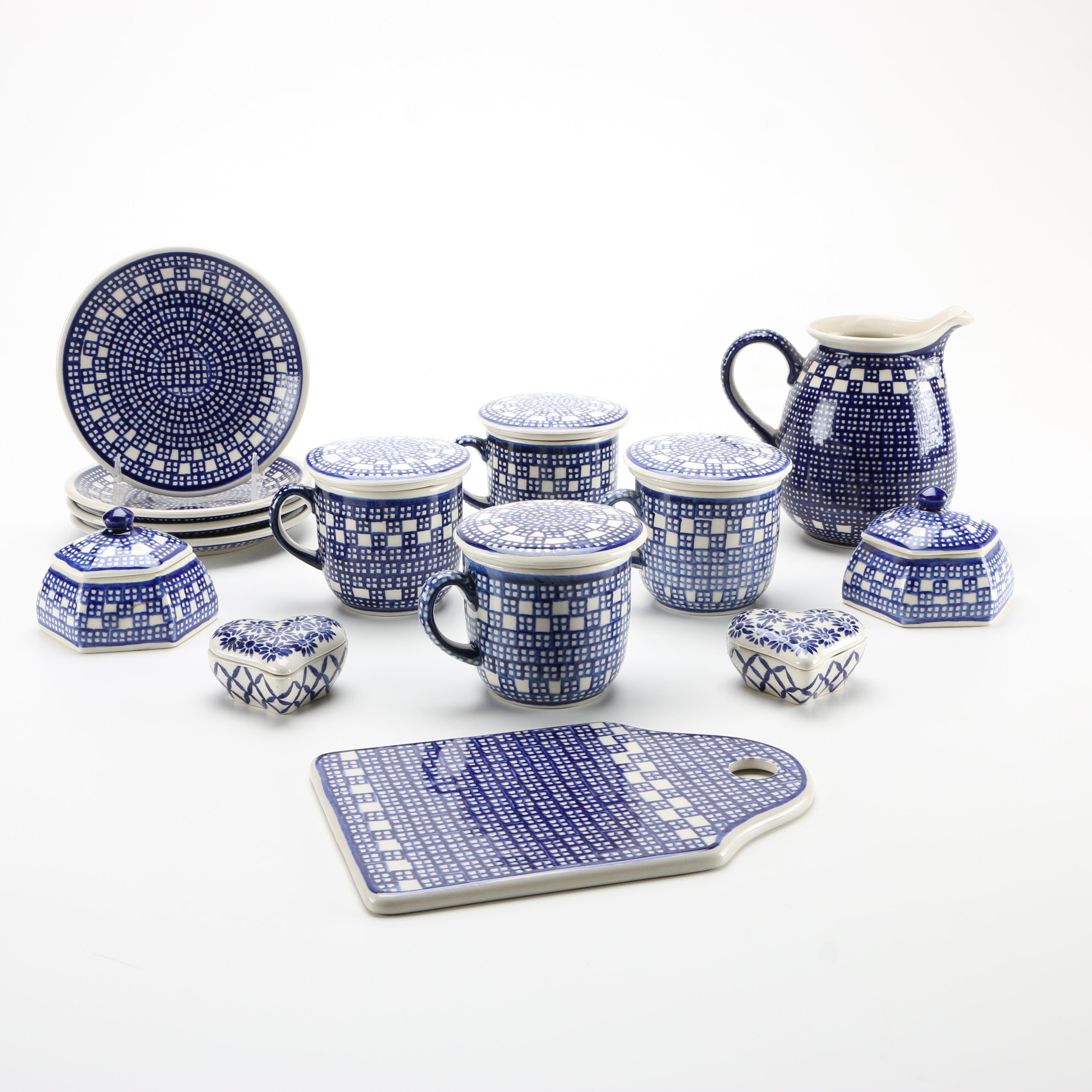 German Beise Pottery Tableware ... & German Beise Pottery Tableware : EBTH