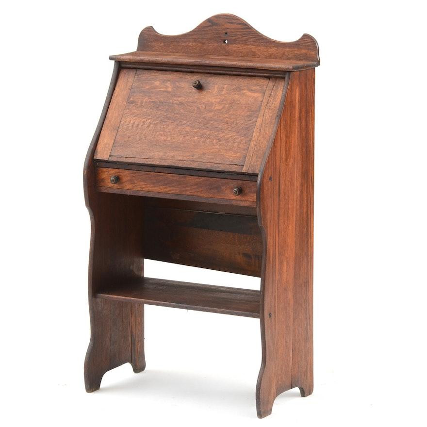 French Antique Child's Secretary Desk ... - French Antique Child's Secretary Desk : EBTH