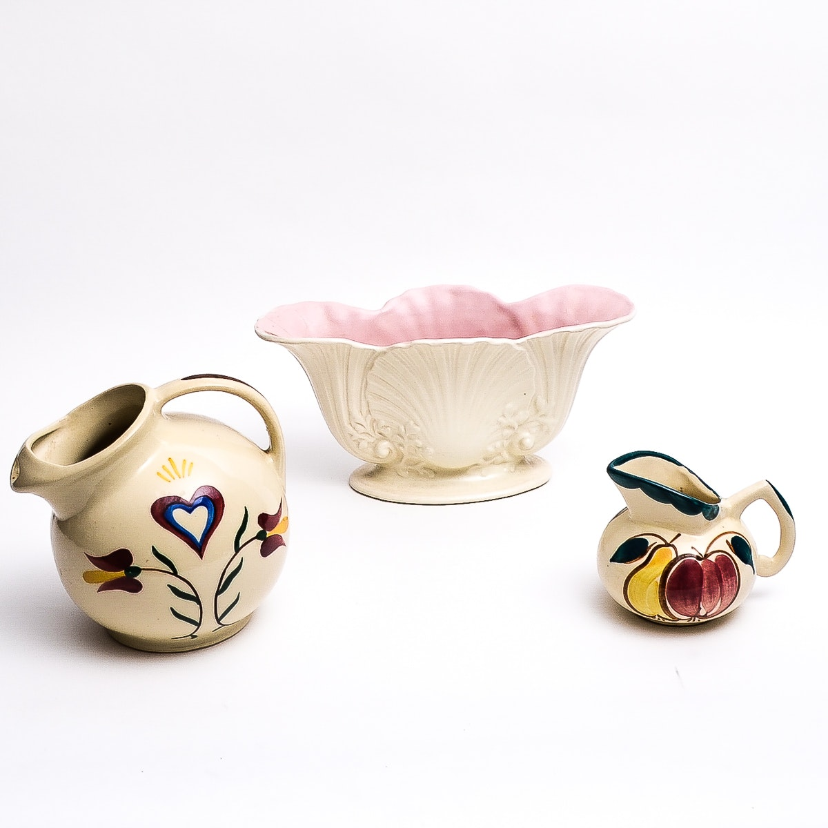 Three American Pottery Pieces