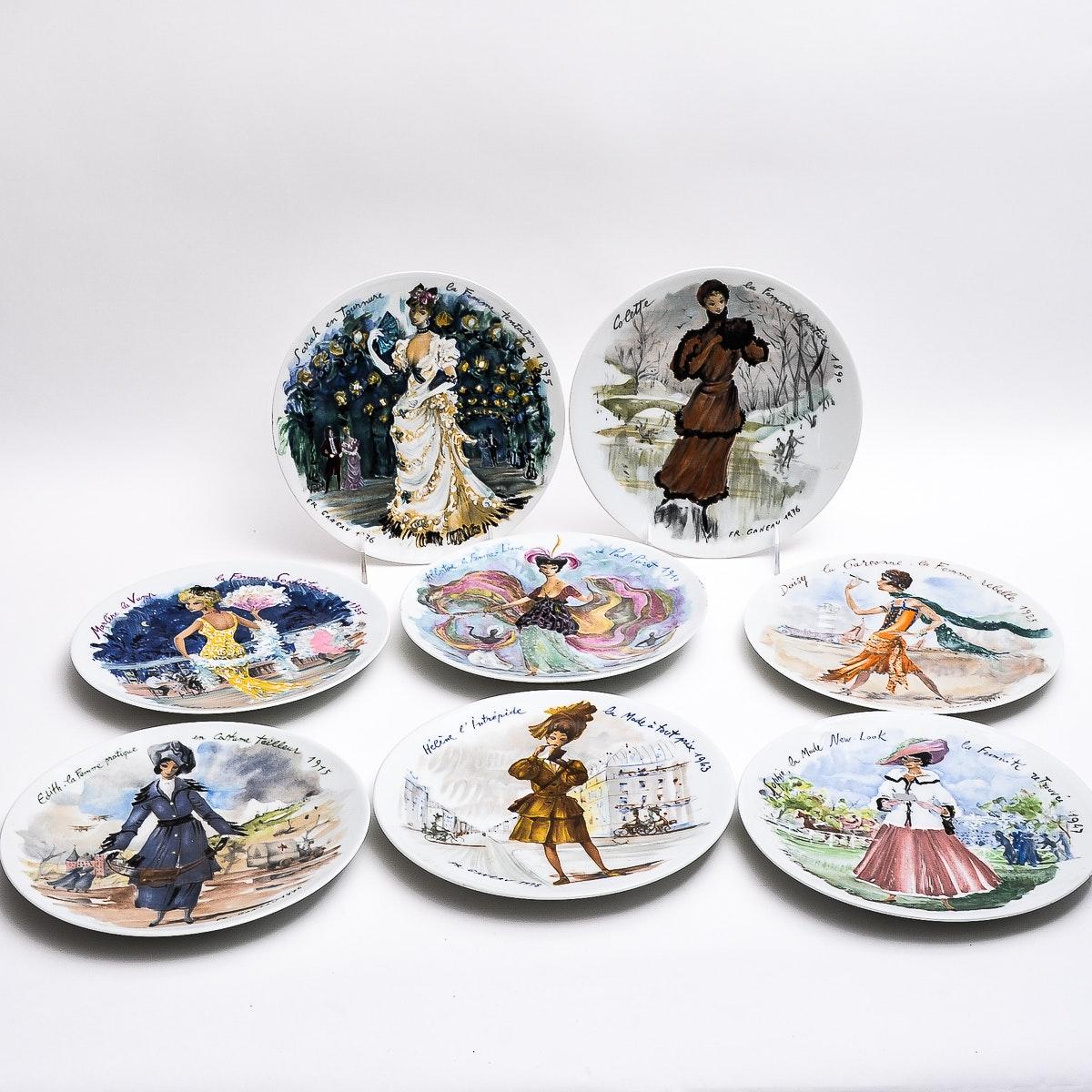 D'Arceau-Limoges Collectible Plates