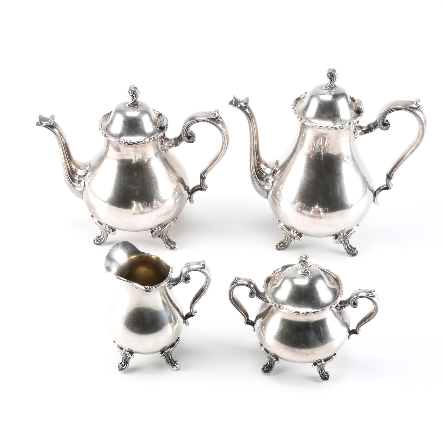 Wilcox  Joanne  Silver Plated Tea and Coffee Set ...  sc 1 st  EBTH.com & Wilcox