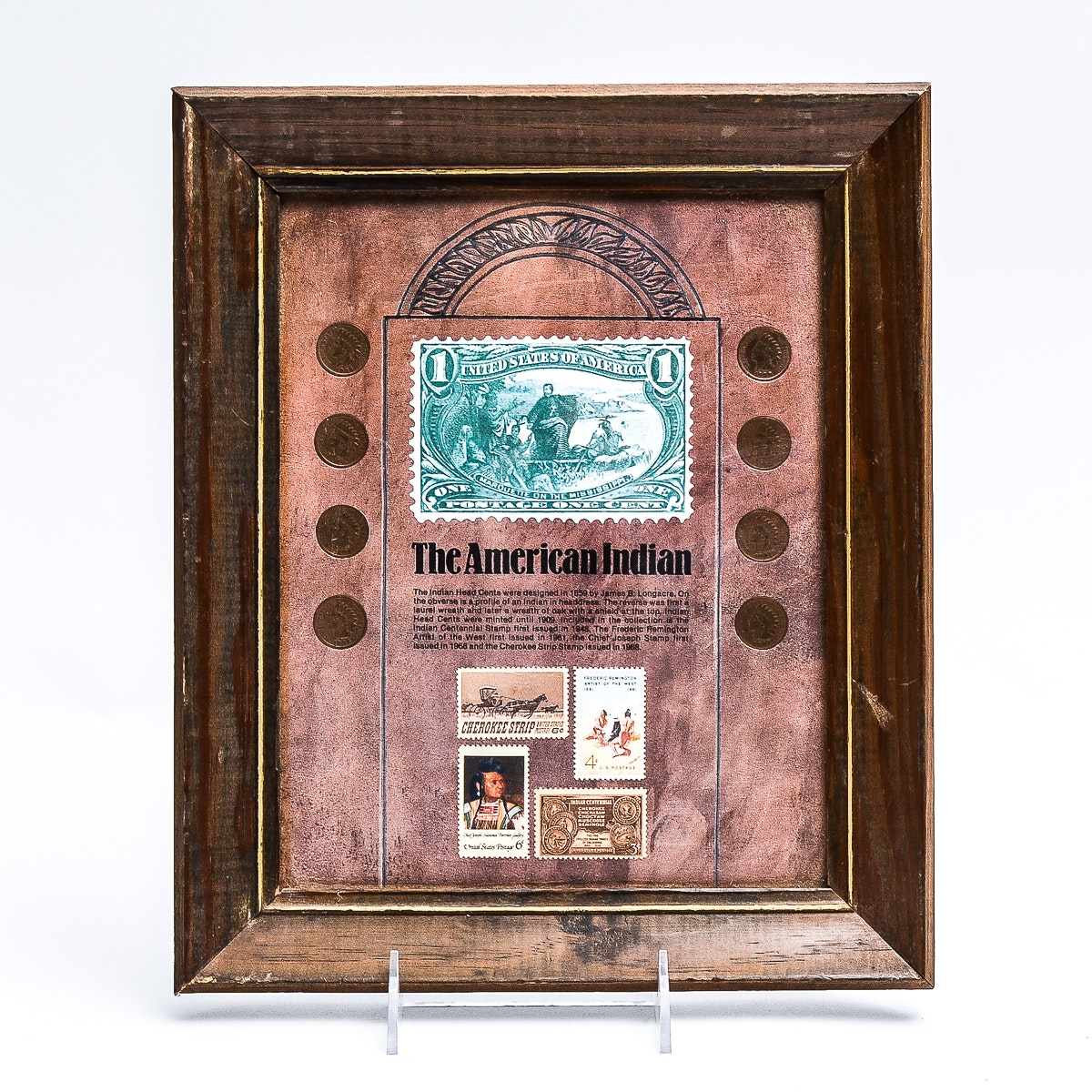 """""""The American Indian"""" Coin and Stamp Collection"""