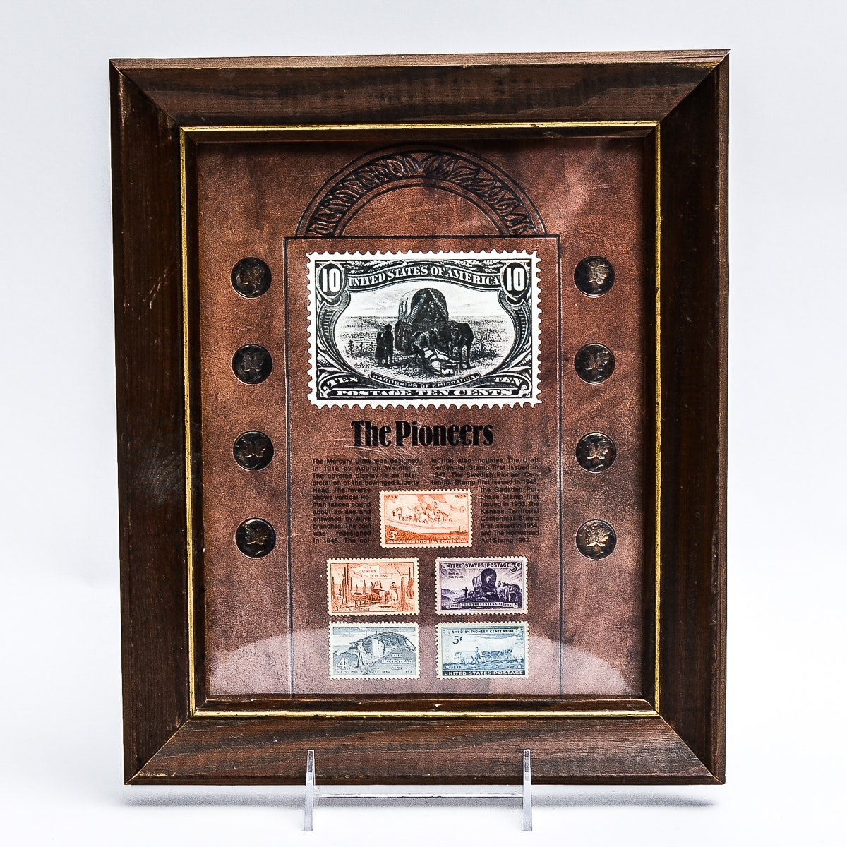 """The Pioneers"" Coins and Stamp Collection"