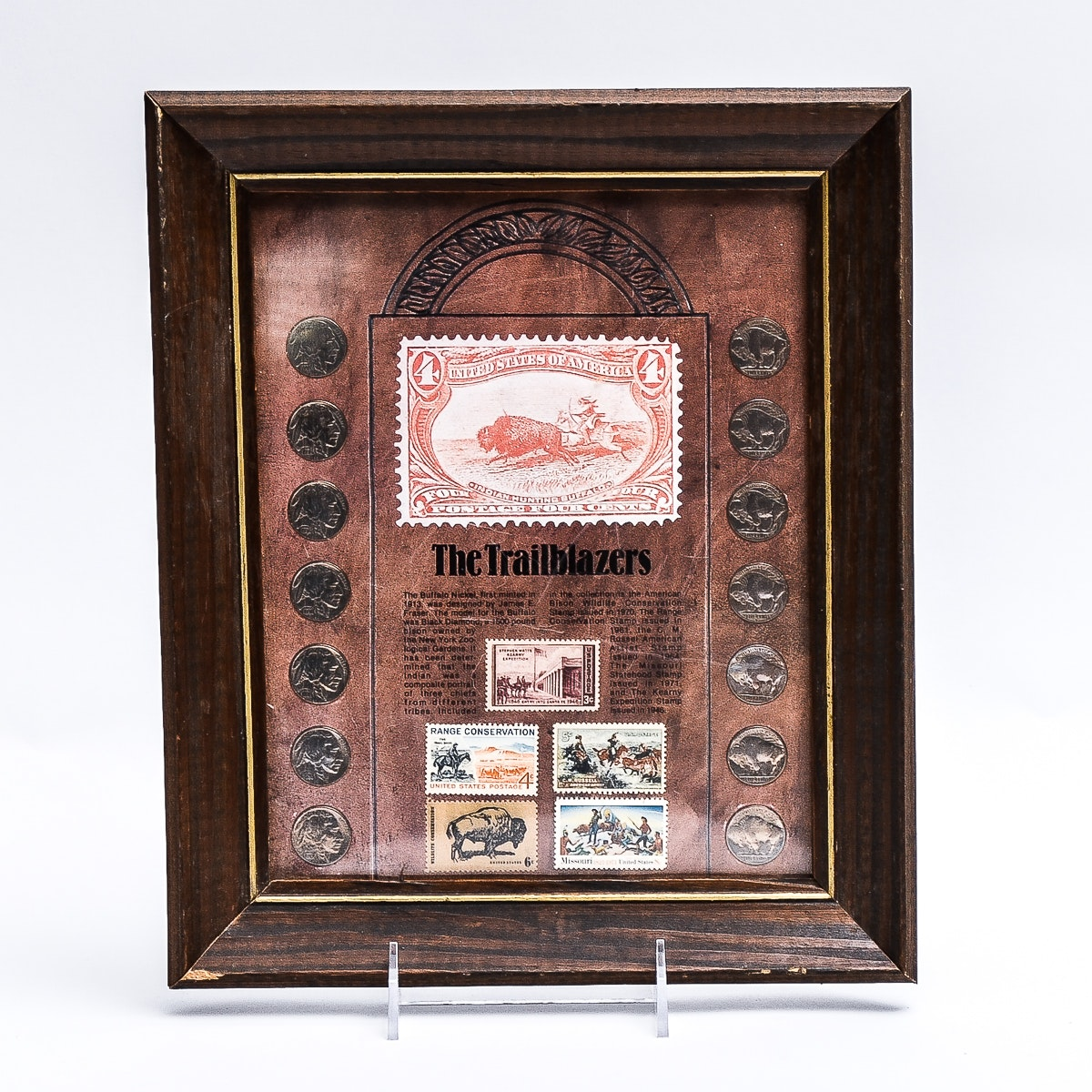 """The Trailblazers"" Coin and Stamp Collection"
