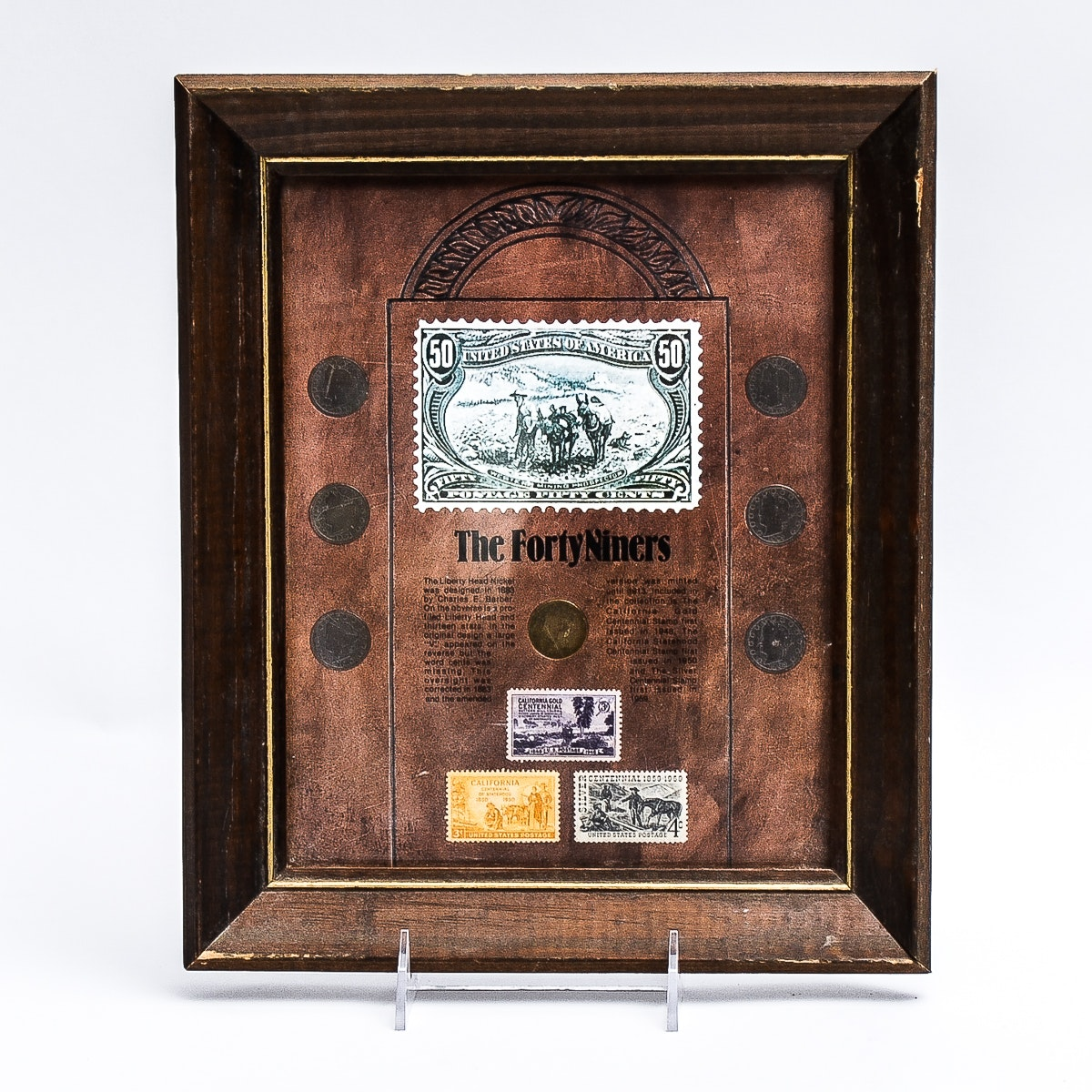 """The Forty Niners"" Coin and Stamp Collection"