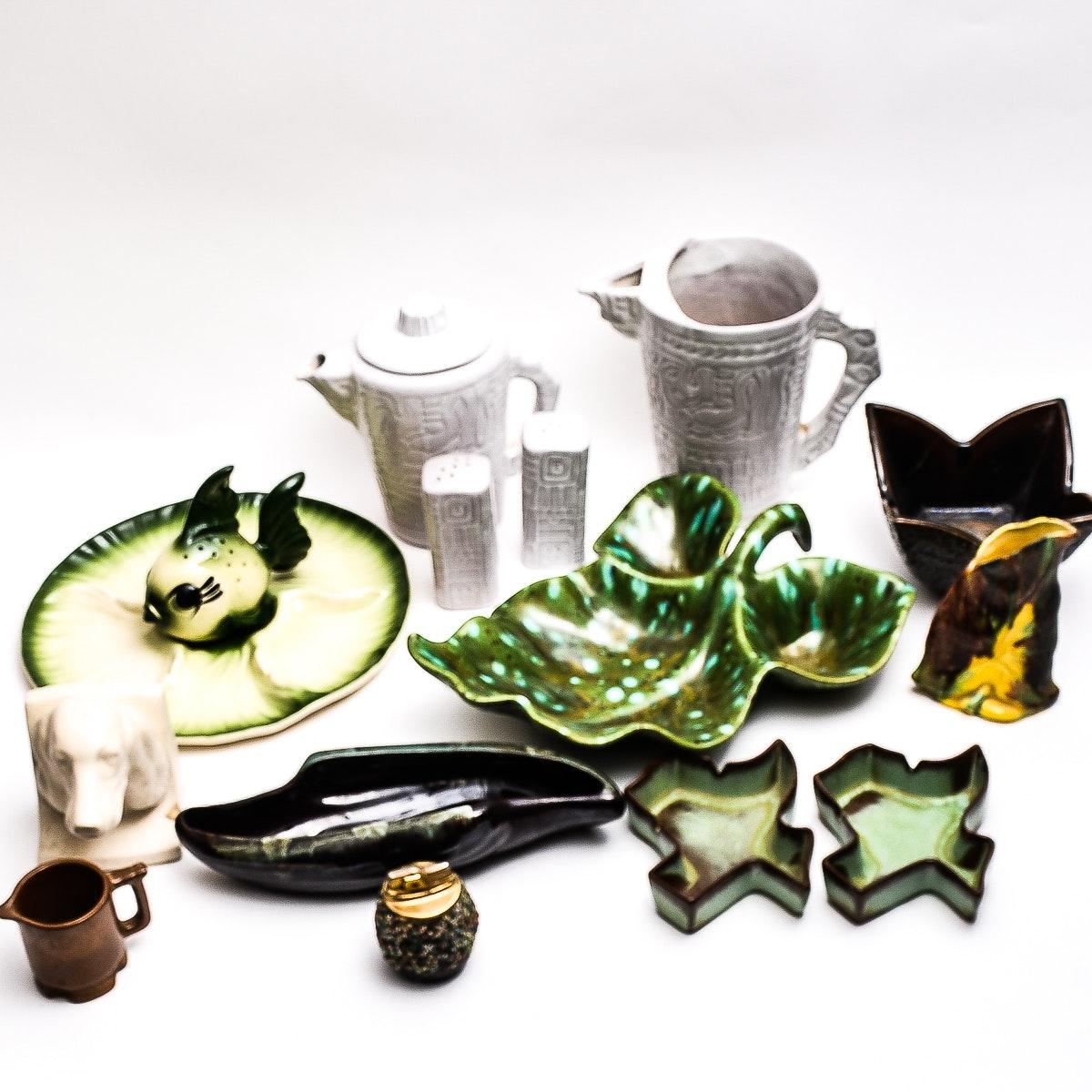 Mid Century Pottery Including Frankoma