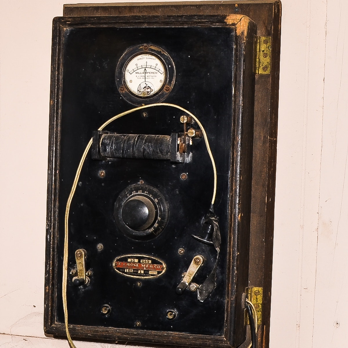 Antique Medical Electroshock Therapy Machine