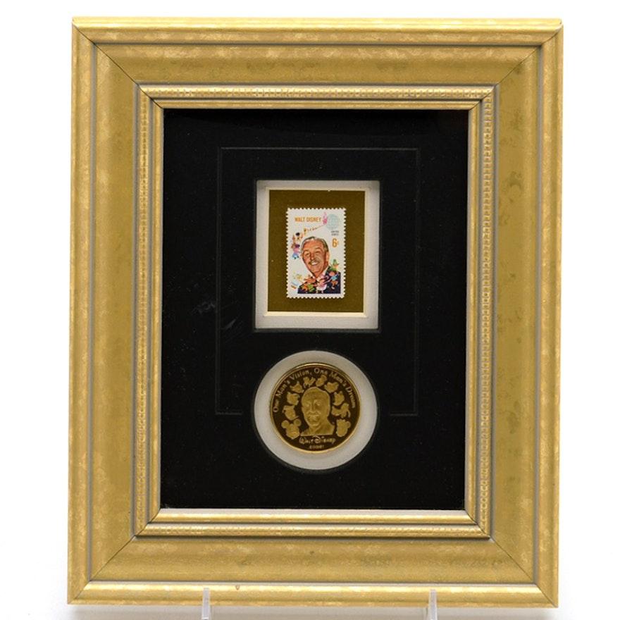 Limited Edition Framed Stamp \