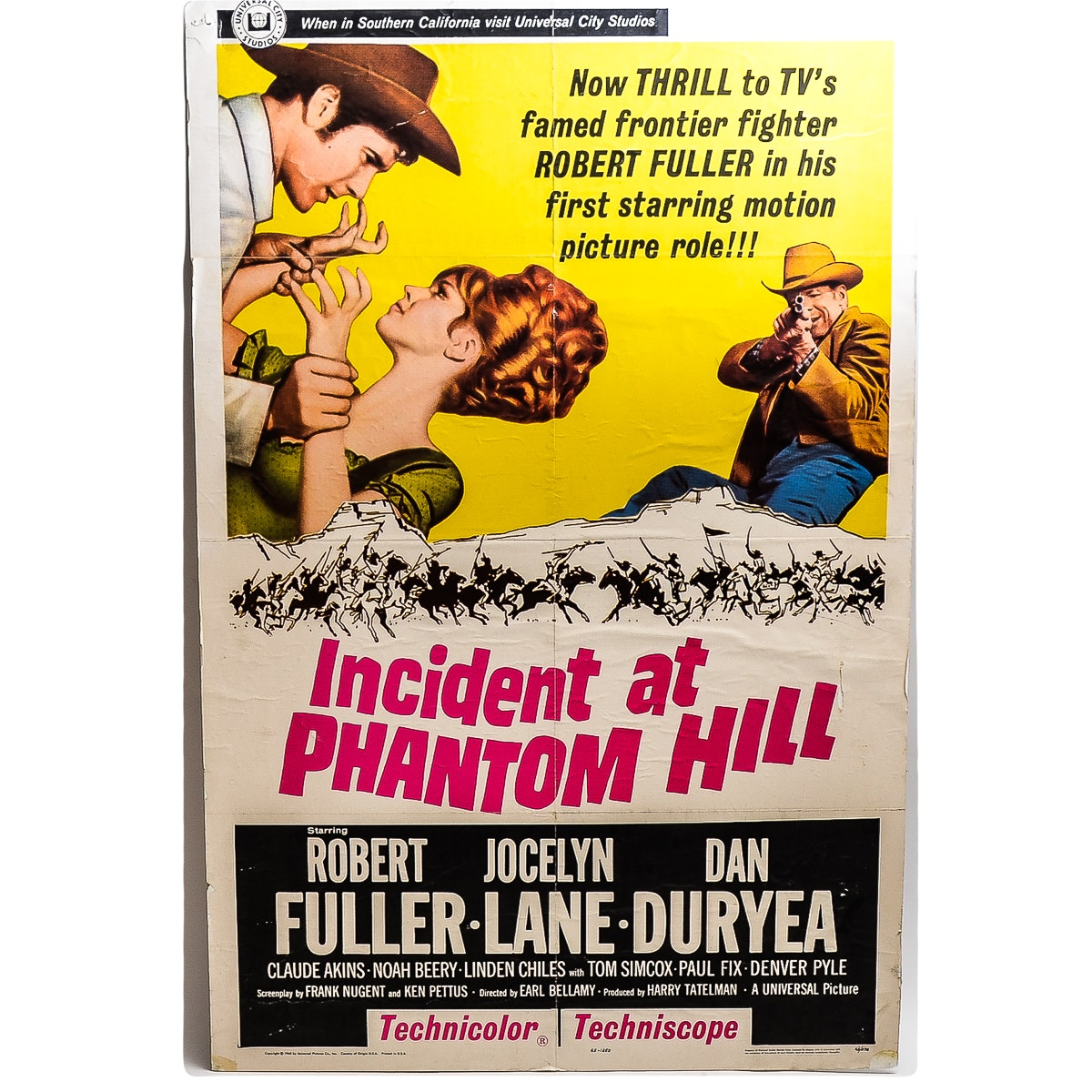 """""""Incident at Phantom Hill"""" Movie Poster"""