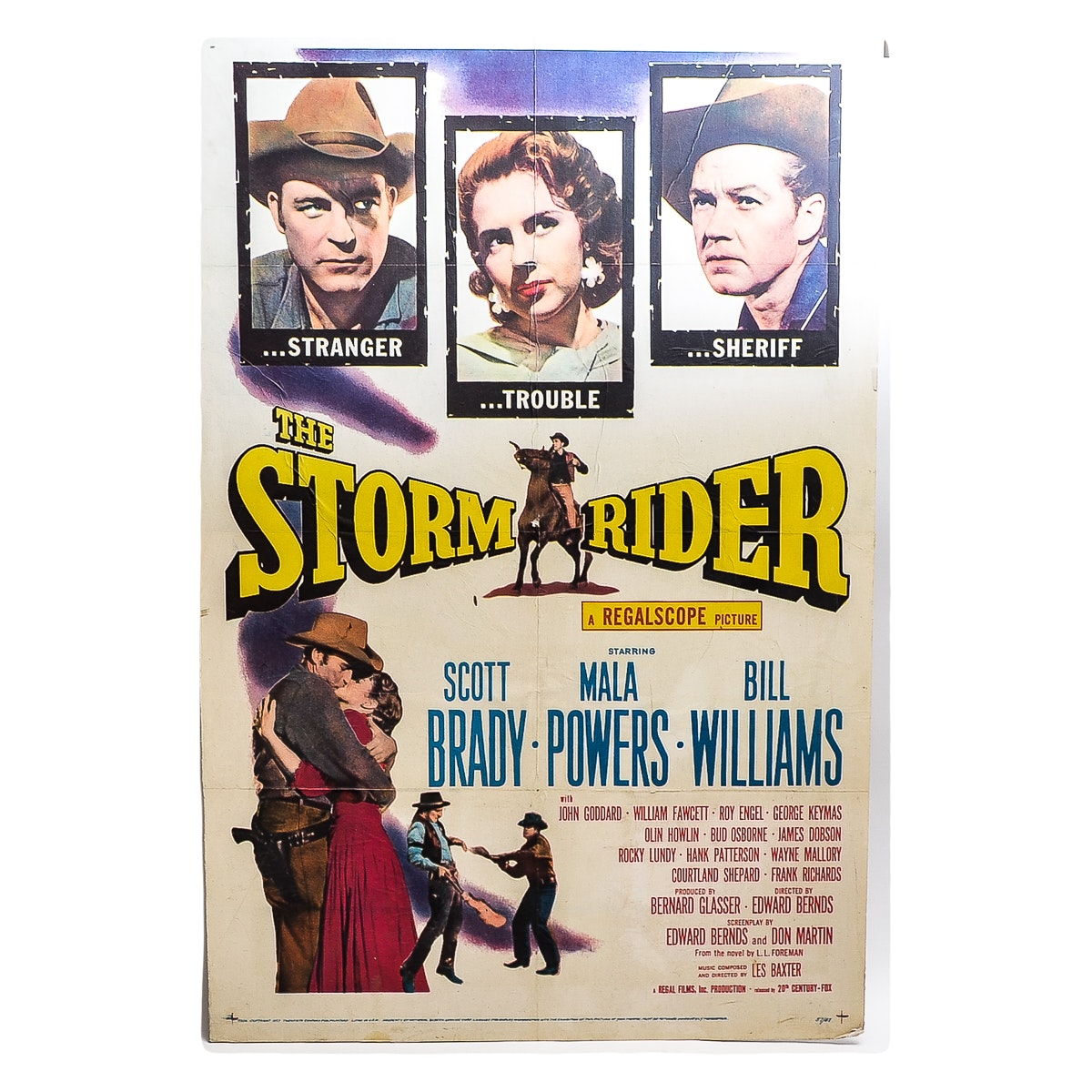 """The Storm Rider"" Movie Poster"