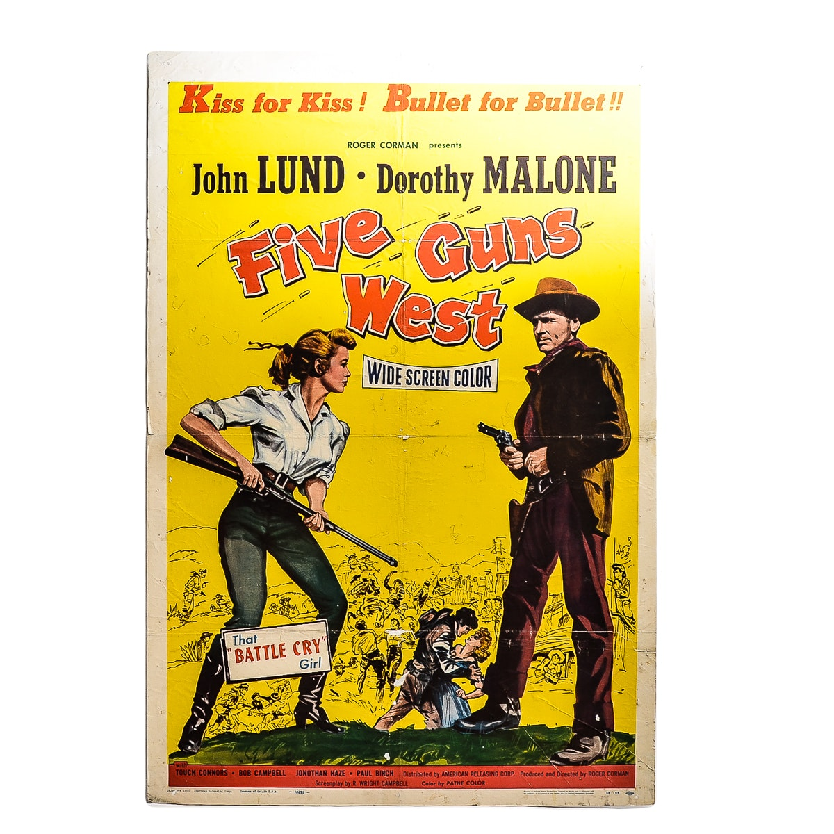 """Five Guns West"" Movie Poster"