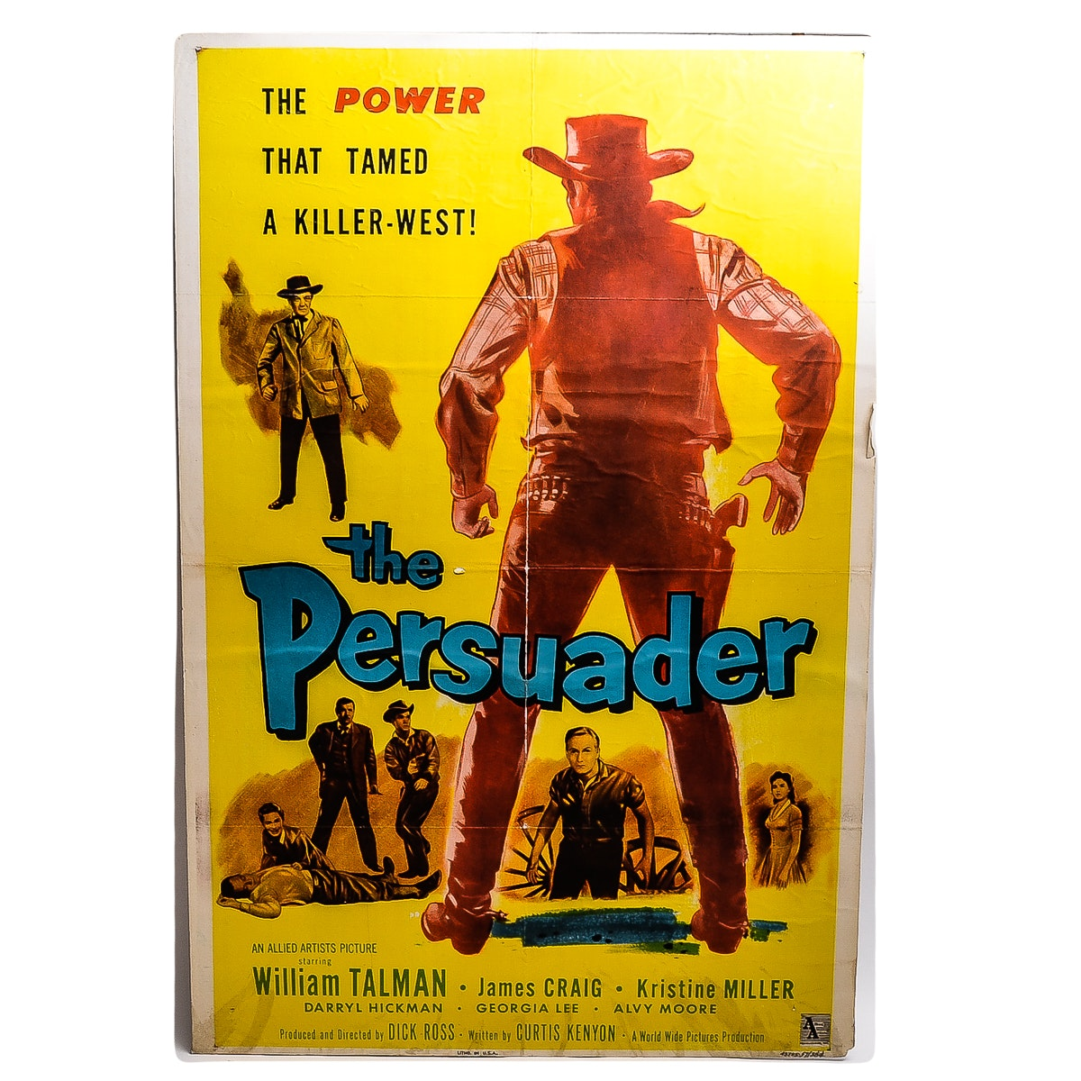 """The Persuader"" Movie Poster"