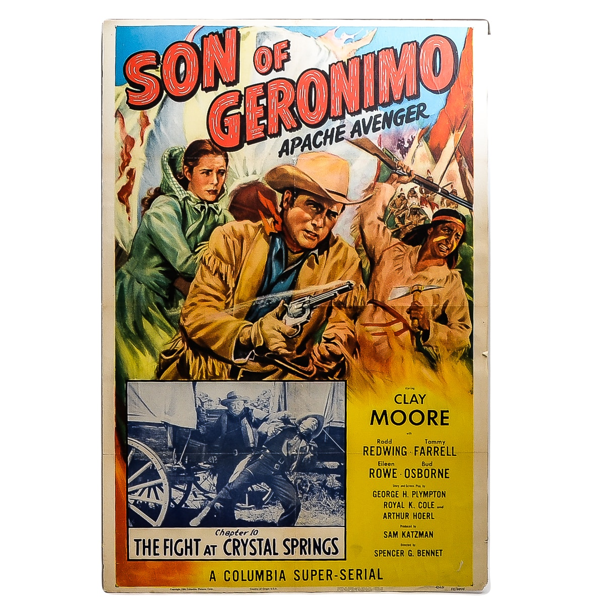 Limited Edition Son of Geronimo Movie Poster