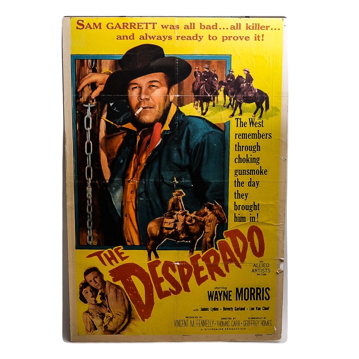 """""""The Desperado"""" Film Poster"""