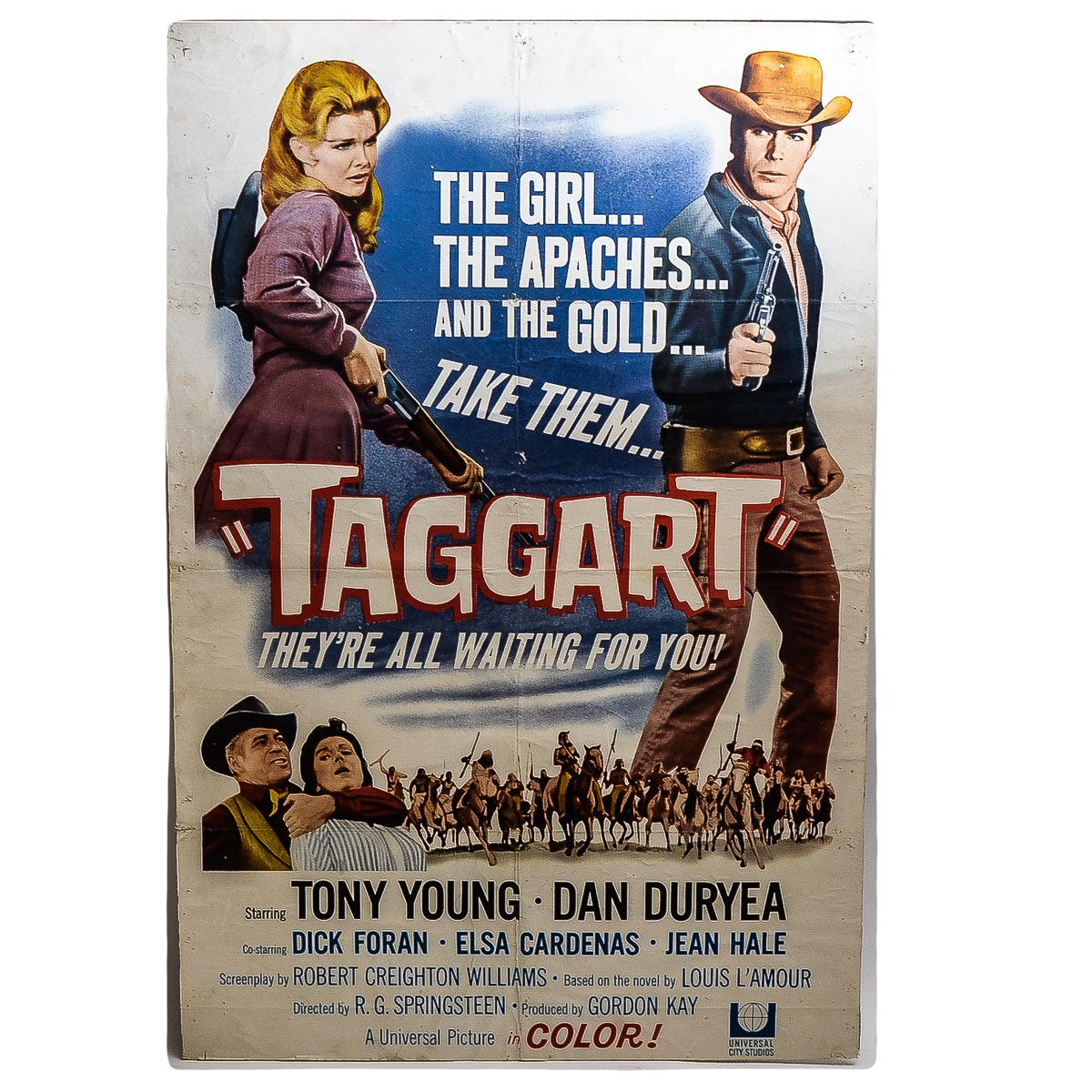 """""""Taggart"""" Film Poster"""
