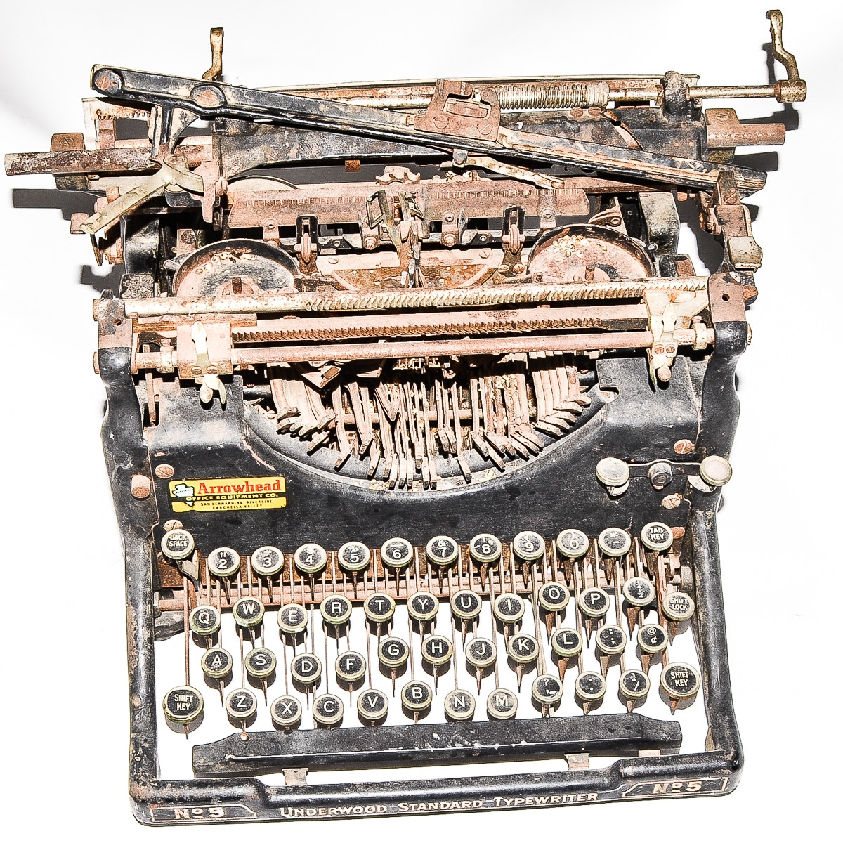 Antique Underwood No. 5 Typewriter