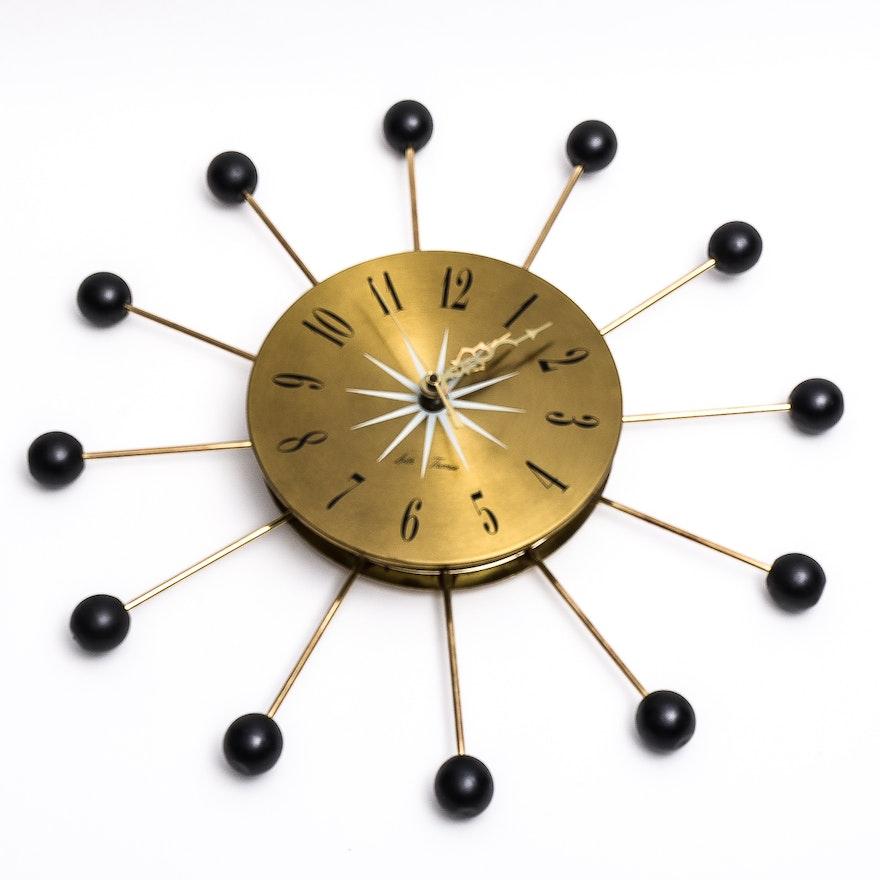 Seth Thomas Sputnik Wall Clock