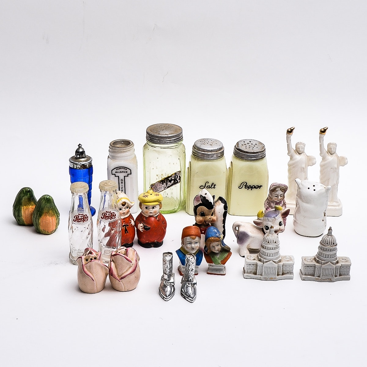 Collection of Vintage Salt and Pepper Shakers