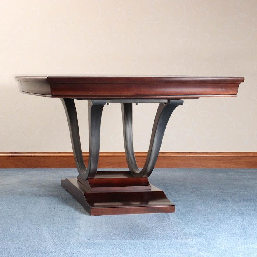 Bernhardt Furniture Paris Pedestal Dining Table