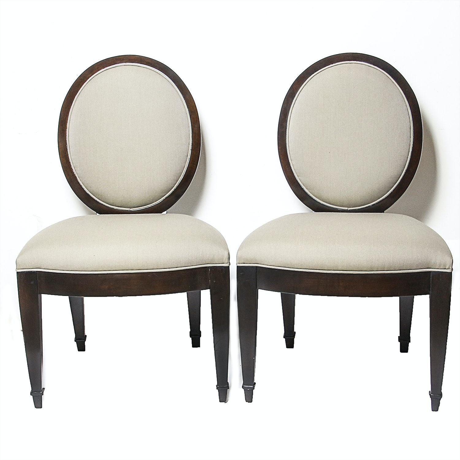 Pair Of John Hutton For Donghia Dining Chairs ...