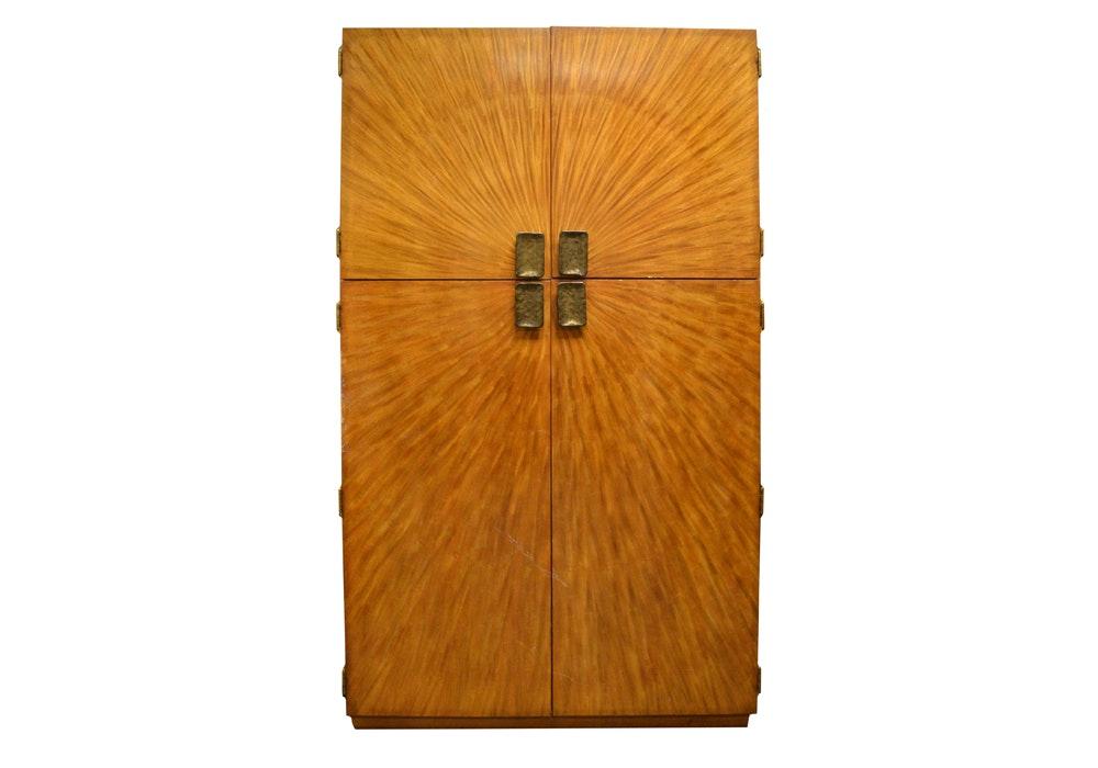 Henredon Wardrobe Cabinet