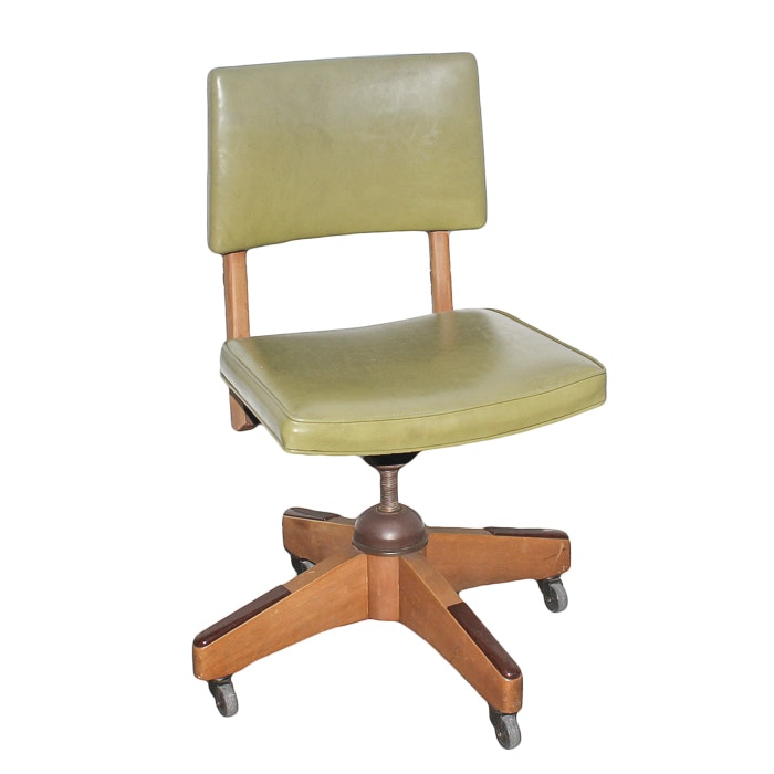 Vintage Imperial Swivel Office Chair ...