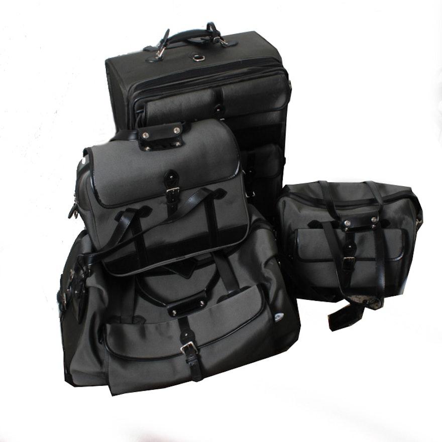 fc3ae90273af Ralph Lauren Four Piece Luggage Set   EBTH