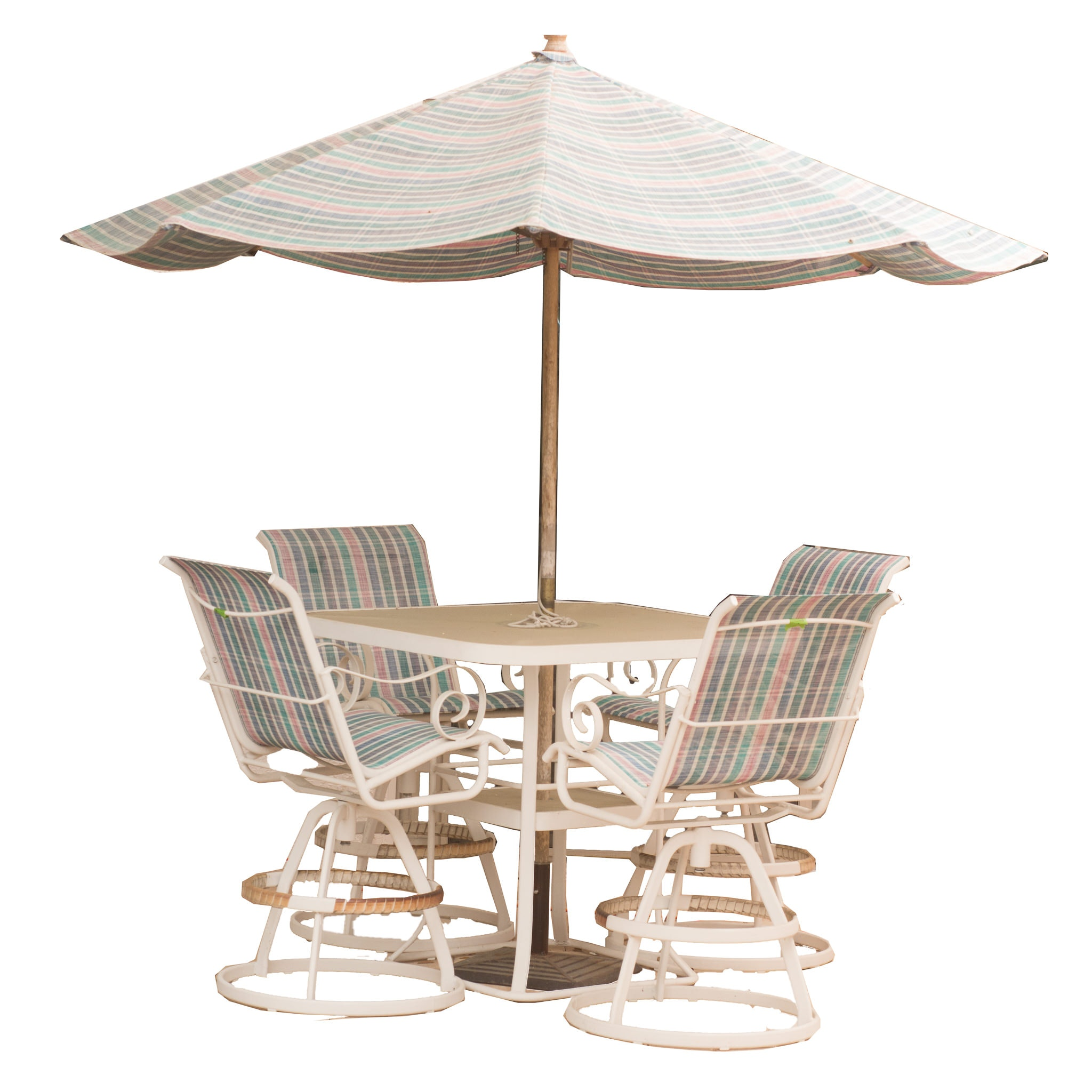 An Outdoor Furniture Set