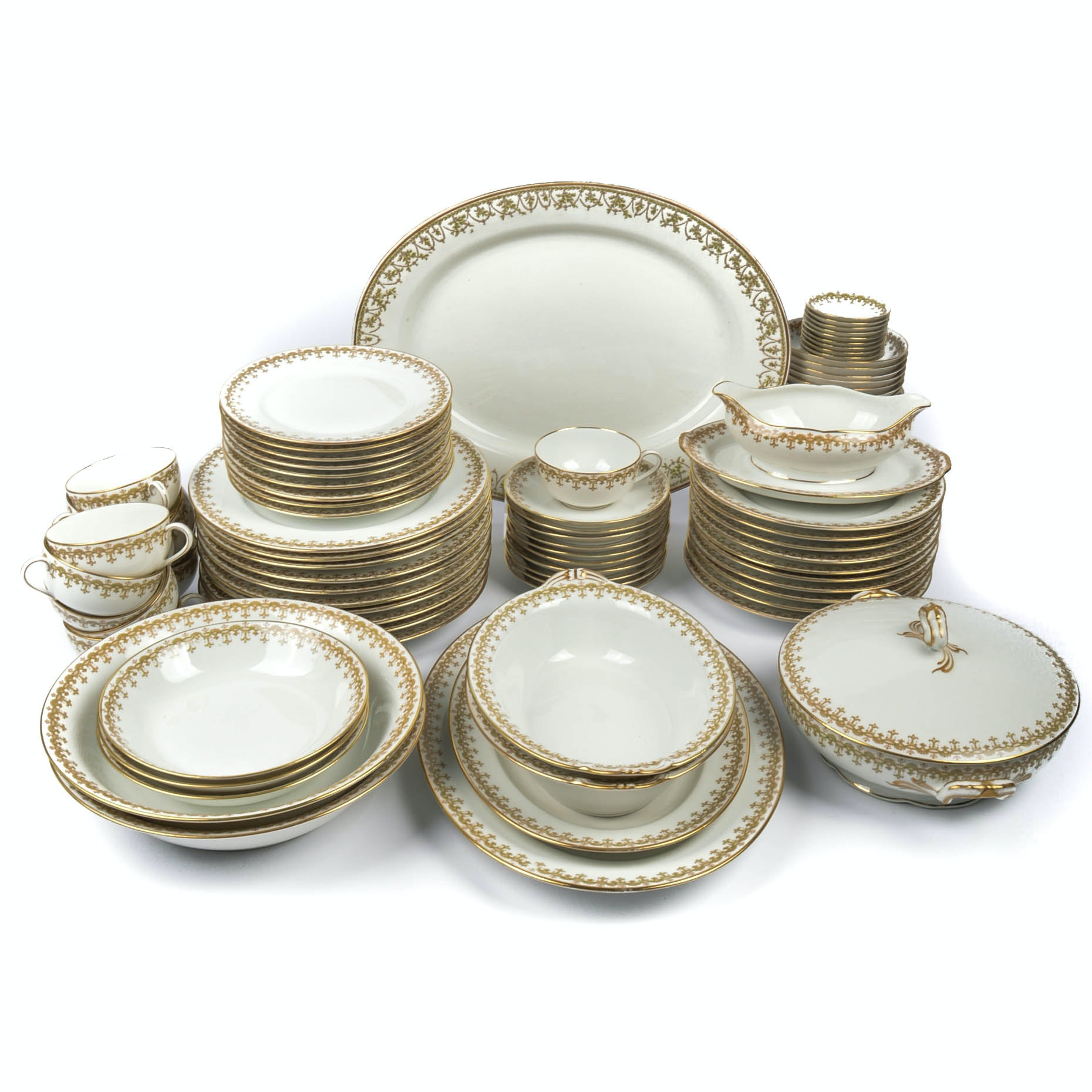 Generous Set of Charles Ahrenfeldt Limoges France China ...  sc 1 st  EBTH.com & Generous Set of Charles Ahrenfeldt Limoges France China : EBTH